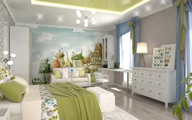 Дизайн детской комнаты, г. Алексин