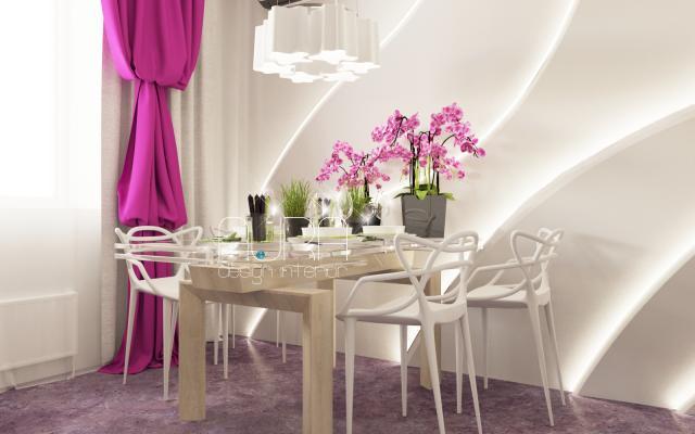 Дизайн кухни в квартире по ул. Ершова, г. Тула