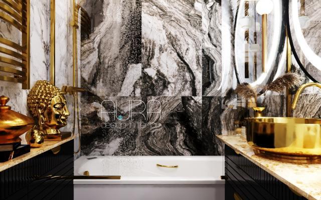 Дизайн ванной комнаты, г. Москва