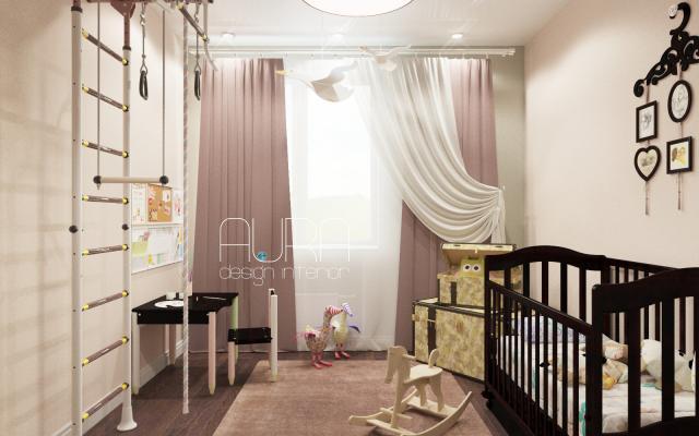 Детская комната по ул.Станиславского