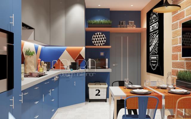 Дизайн кухни на проспекте Ленина, г. Тула