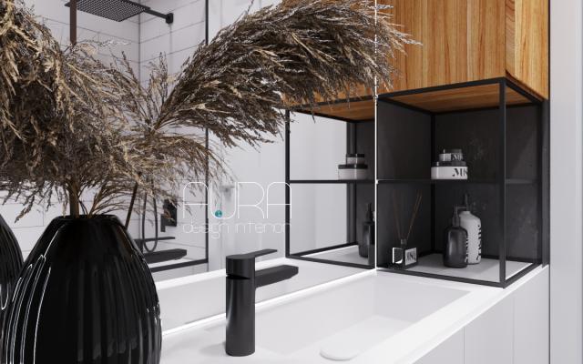 Дизайн ванной в квартире ЖК «ИМЕНА»,  г. Тула