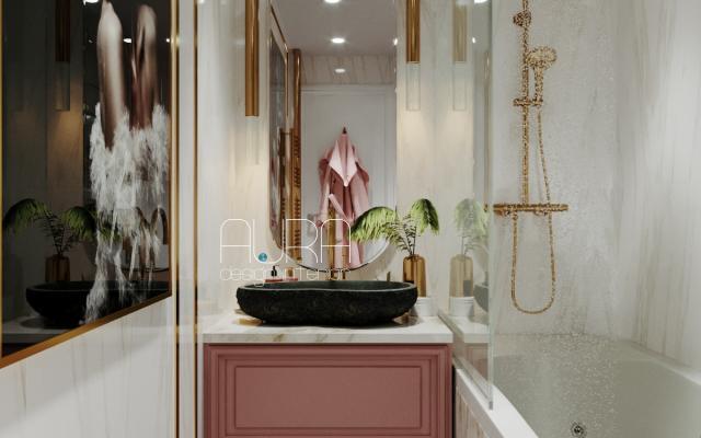 Дизайн ванной комнаты, г. Алексин