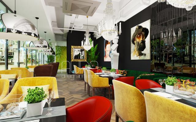 "Дизайн ресторана ""MUSE"", г. Домодедово"