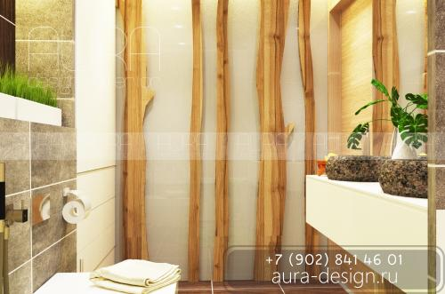 Дизайн ванной по ул. Митинская, г. Москва