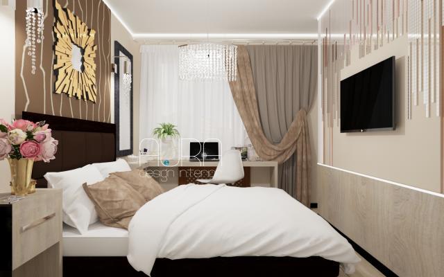 Квартира по ул. Санаторная. Спальня