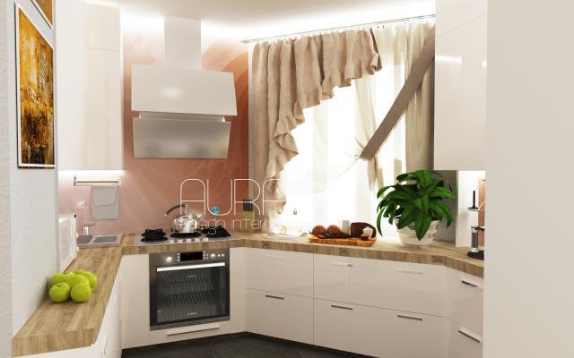 Квартира по ул. Санаторная. Кухня