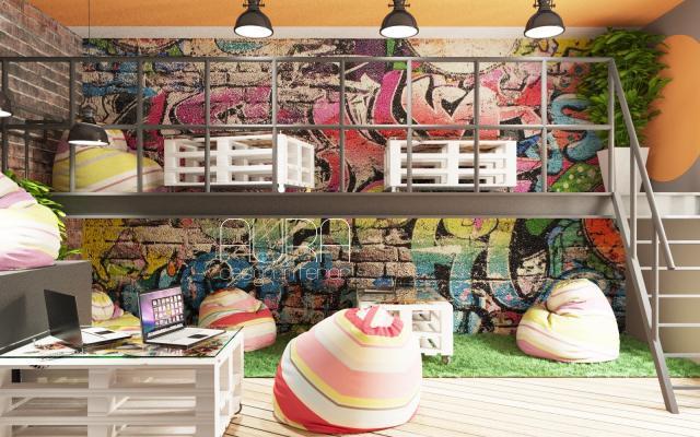 Дизайн молодежного центра, г. Тула